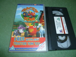 TRACTOR-TOM-VHS