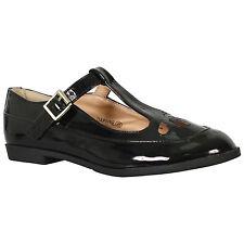 les filles, les enfants lamper maccy maccy maccy brevets dr martens en cuir noir à l'école 699d98