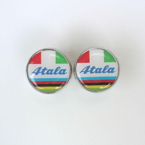 Chrome Racing Bar Plugs Repro Atala Caps Vintage Style