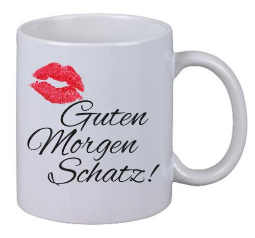 Kaffee Tasse Guten Morgen Schatz Kuss Kiss Liebe Love Geschenk X Mas Santa Neu Ebay
