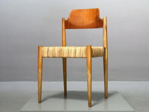 1 (v. 8) Dining Chair Egon Eiermann Wilde Spieth SE19 Esszimmer Stuhl xx% MwSt.