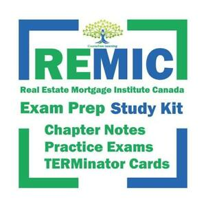 REMIC RMAC Mortgage Agent / Broker Exam Prep Mortgage Professionals Canada Textbook & Mock Exams Study Notes Kit Ontario Preview