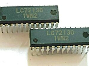 LC72130  Original New Sanyo Integrated Circuit  FREE Shipping within US LOT OF5