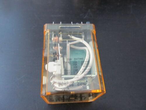 30VDC Coil IDEC RR3B-U Relay DC24V 11pin 10A 120//240VAC New