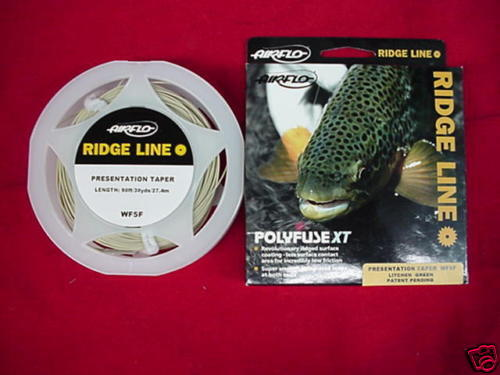 Air Flo Fly Line Ridge Presentation Taper WF6F NEW