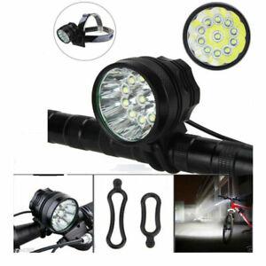 5000Lm XM-L T6 LED Front Mountain Bike Headlight Head Torch Recharegable Light