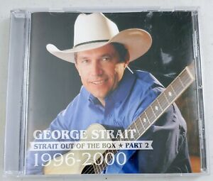 George Strait: Strait Out of the Box Pt. 2 (1996-2000) - Country Music CD