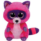 Ty Beanie Babies 37043 Boos Roxie The Raccoon Boo Buddy