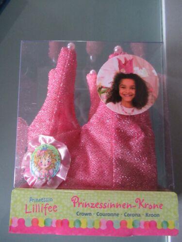 Prinzessinnen Krone Lillifee spiegelburg rosa glitzer mit Perlen