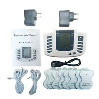 Tens Machine Electrical Stimulator Body Relax Muscle Massager Acupuncture16 Pads