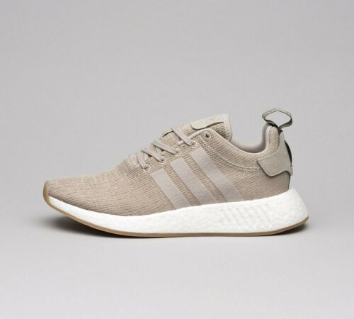 Mens Adidas NMD R2 Vapour Grey Trainers (SF1) RRP £99.99