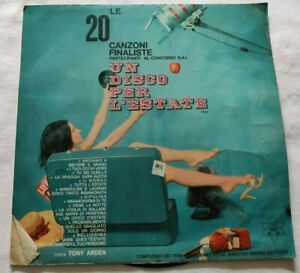 TONY-ARDEN-LP-UN-DISCO-PER-L-039-ESTATE-1965-33-GIRI-ITALY-1965-VG-VG