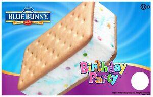 Superb Ice Cream Truck Decal Sticker Conejo Azul Fiesta De Cumpleanos Ice Funny Birthday Cards Online Hendilapandamsfinfo