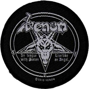 Venom-In-League-With-Satan-Patch-Official-Black-Metal-New