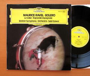 DG-2530-475-ravel-bolero-la-valse-Espagnole-Seiji-Ozawa-Boston-Symphony-Presque-comme-neuf-EX