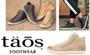 Taos Footwear Leather Sneaker boots