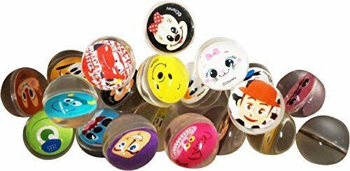 Disney all-star face pattern bouncy ball27 27mm x 100