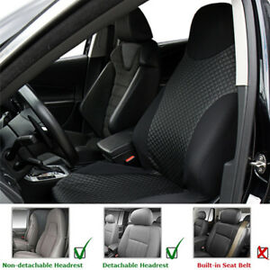 Wondrous Details About Car Auto Suv Front Seat Cover Black Pu Imitated Leather Sports Washable Cushion Machost Co Dining Chair Design Ideas Machostcouk