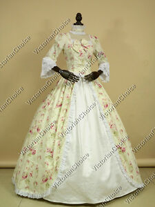 Renaissance Colonial Vintage Alice in Wonderland Gown Theater ...