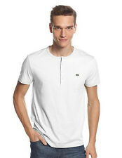 6c0ef2e7 item 2 New Lacoste Men's Pima Cotton Short Sleeve Henley Top T-Shirt Tee  Black White -New Lacoste Men's Pima Cotton Short Sleeve Henley Top T-Shirt  Tee ...