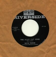 David Thorne - The Alley Cat song  - GUARANTEED ORIGINAL - NEW OLD STOCK