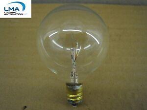 HASKELLITE-25W-CLEAR-GLOBE-BULB-2-034-LIGHT-LAMP-130V-3000HRS-ROUND-G-16-1-2-NEW
