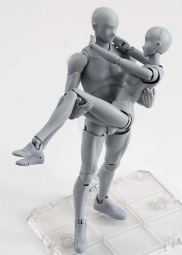 S.H.Figuarts He She Body Kun DX Set Body-Chan Action Figure PVC Deluxe Edition
