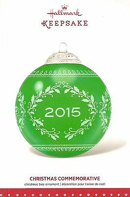 Hallmark 2015 Christmas Commemorative Series Ornament