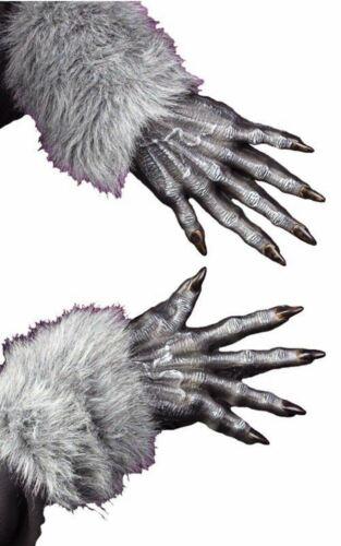 Zubehör Halloween Werwolf Klauen Handschuhe
