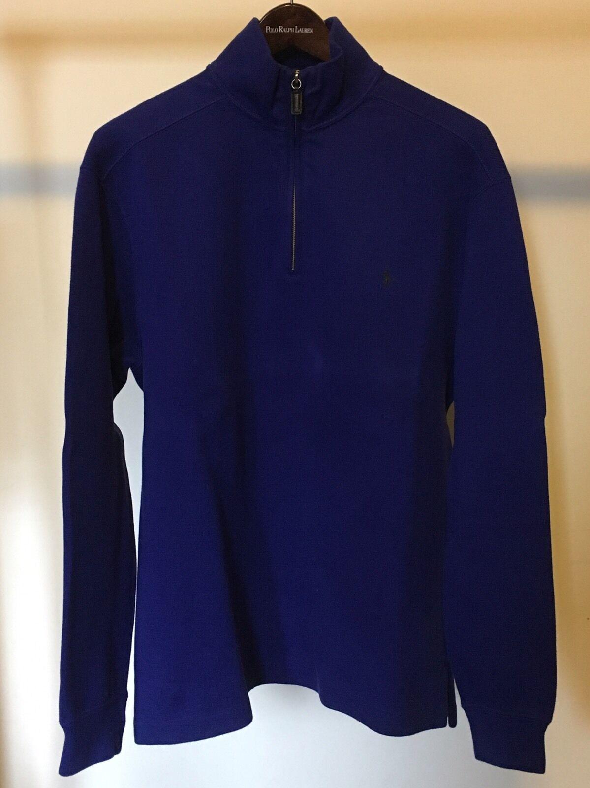 Polo Ralph Ralph Ralph Lauren Uomo's blu Sweater 45d5d5