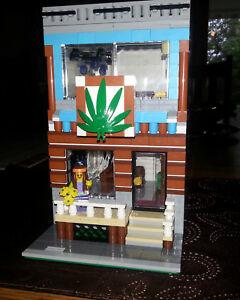 LEGO Custom Modular INSTRUCTIONS ONLY - The Hemp Shop
