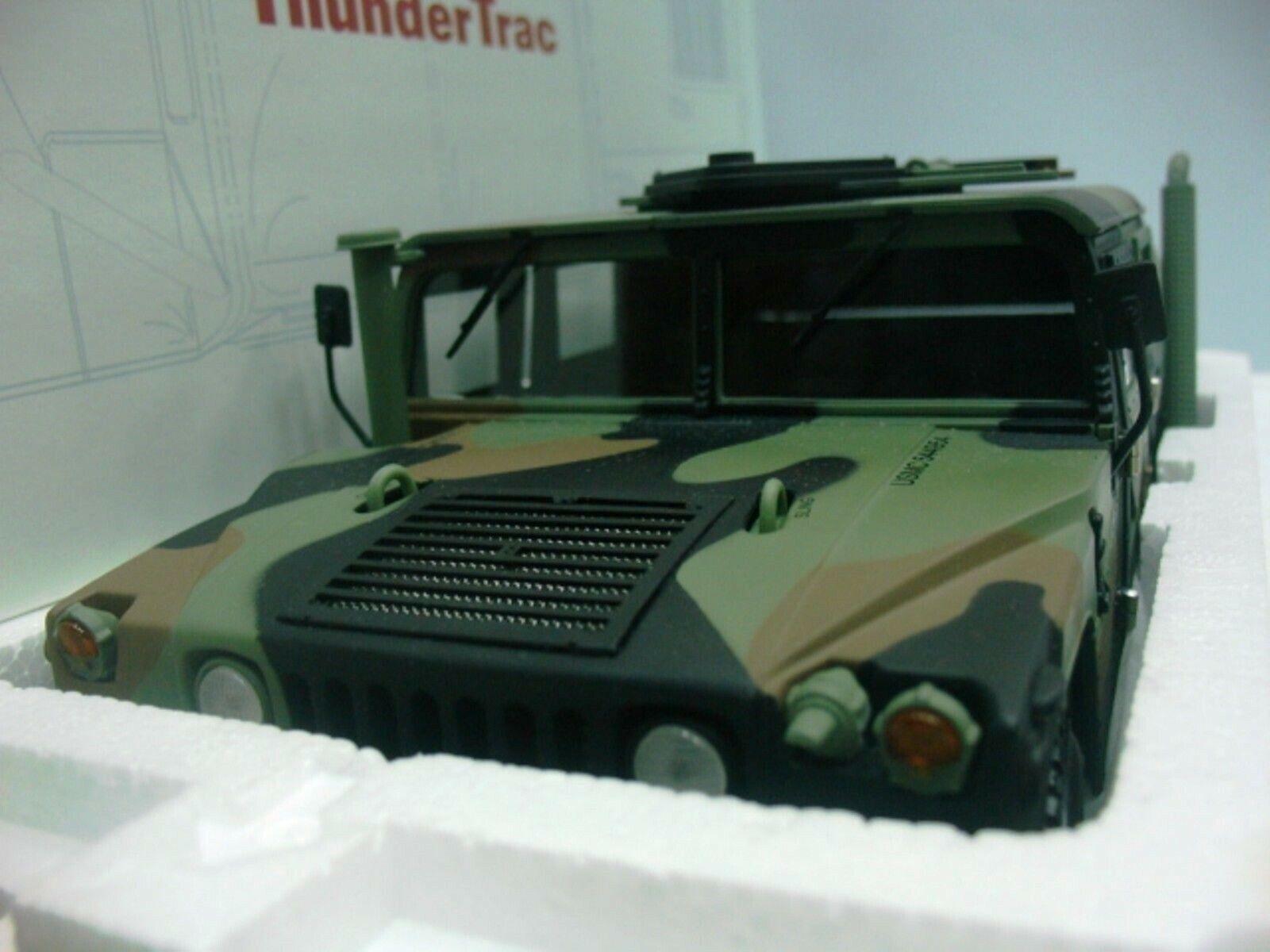 Wow extrêmement rare Hummer militaire H1 Camouflage 6.5 Diesel V8 1995 1 18 Exoto