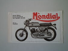 advertising Pubblicità 1976 MOTO MONDIAL 125 TOURING