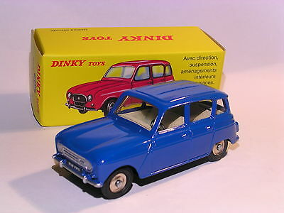 1//43 Atlas Dinky Toys 518 Renault 4L Blue NEW 1:43 Die-cast MODEL Collection