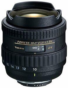 Tokina Af Dx 10-17Mm F / 3.5-4.5 Fisheye Zoom - Canon Mount