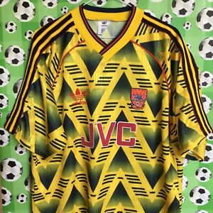 """42-44"" 91-93 ARSENAL Away Football Shirt"