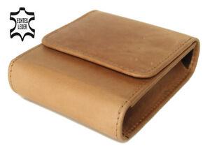 Pitillera-Caja-Grande-XXL-Paquete-Braun-Cuero-Autentico-de-Cigarrillos-Estuche