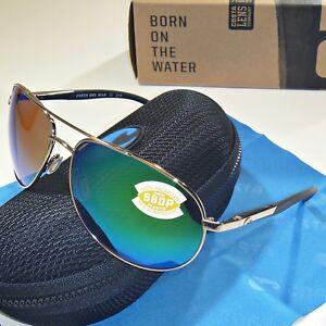 6e71e117225 Image is loading Costa-Del-Mar-Wingman-Polarized-Sunglasses-Palladium-Green-