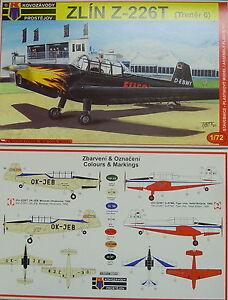 Flieger Revue Zlin Z-226 T 1:72 UK Kovozavody Prostejov ,KP Trener 6 CZ