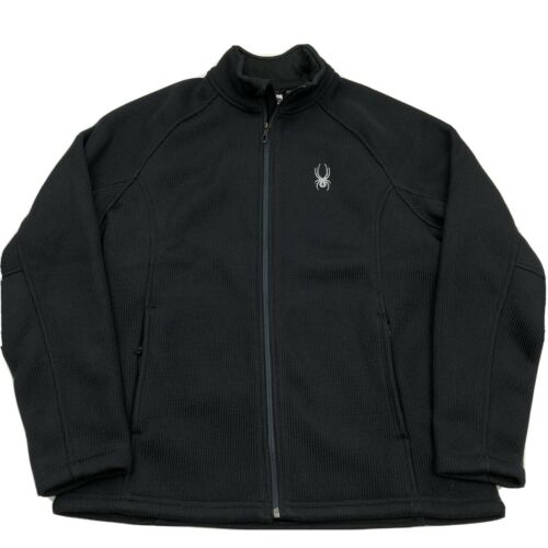 Spyder Mens Foremost Heavy Full Zip Sweater Therma
