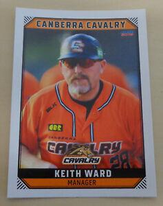 Steve Kent 2018//19 Australian Baseball League card Canberra Cavalry
