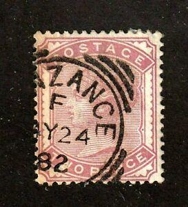 Great Britain stamp #81,used,  Queen Victoria, SCV $100