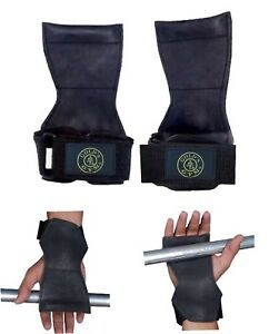 Golds-Gym-Levantamiento-De-Pesas-Apretones-Training-Correas-Gimnasio-Guantes-Envoltura-De-Barra-De