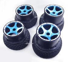 New Alloy F/R Wheel Rim+Tire Kit for HPI Baja 5B/5B SS