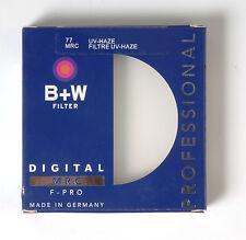 B+W 77mm Mrc UV Haze Protective Filter For Pentax Canon Nikon Sony Olympus Leica