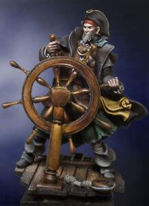 Andrea Miniatures monte le kit non peint de Storm Pirate 54mm