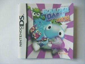48662-Instruction-Booklet-Boulder-Dash-Rocks-Nintendo-DS-2007-NTR-YBQP-EUR