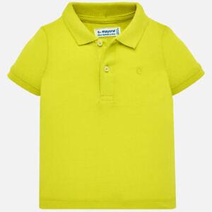 5e66e8158c Dettagli su polo basica gialla maglia maglietta colletto neonato bimbo  bambino mayoral