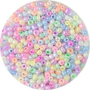 Rocailles-2-6-mm-Mix-pastell-17-g