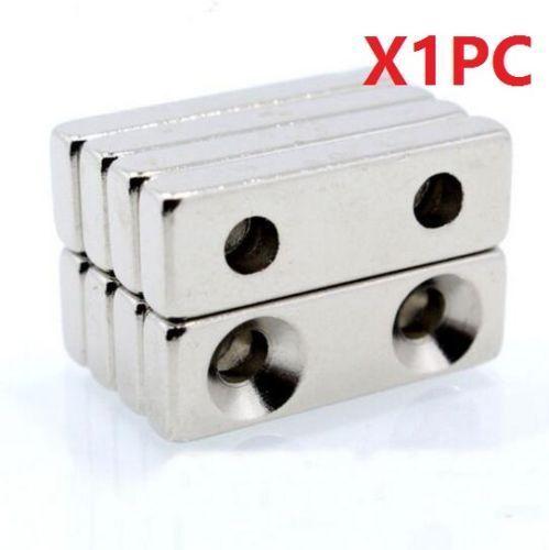 Super Strong Magnets Block Cuboid 30x10 x5 mm Rare Earth Neodymium N35 1Pc \